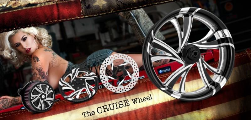 Xtreme Machine Newデザインホイール Cruise
