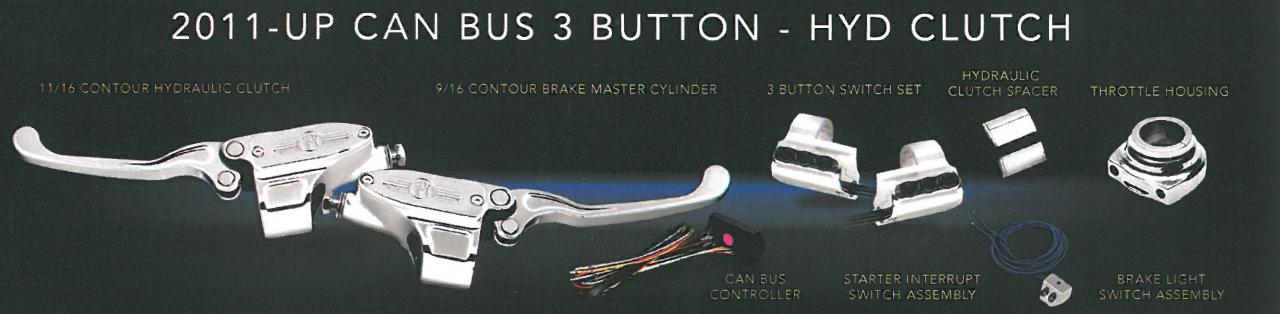 パフォーマンスマシン CAN BUS対応ハンドコントロールセット